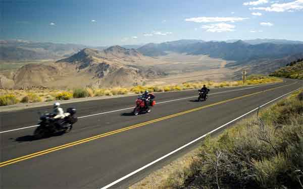 Motorcycle riders love the ride from Murrieta to Carlsbad from the ocean to high mountains of Cleveland Forest