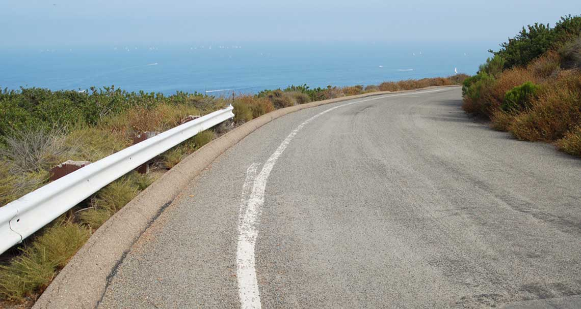 San Diego is filled with scenic roads for motorcycle rides, PCH, Highway 1 and rides on the coastal cliffs