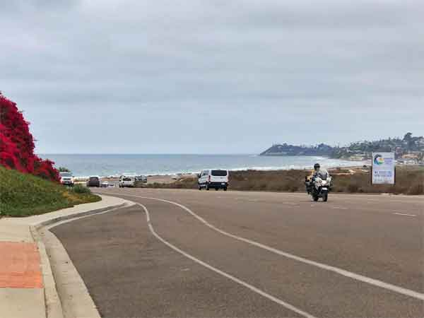 The Pacific Coast Highway, PCH, highway 1 highway 101 - the road closest to the Pacific Ocean down the West Coast with a long run through S. California is a popular road for motorcycle riders, runners, bicycle riders.