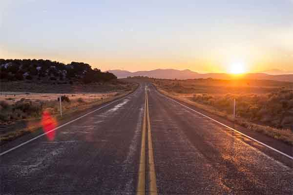 San Diego County Sunrise Highway is another one popular with motorcycle riders giving them the freedom to roll in a low traffic beautiful scenery road.